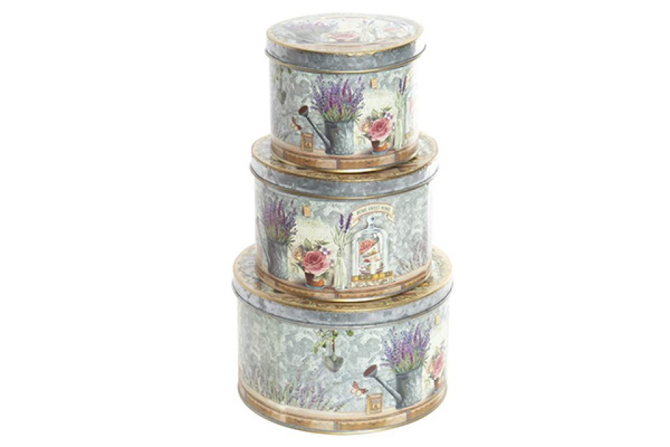 Set cvetnih kutija / 3 22,5X22,5X13,5