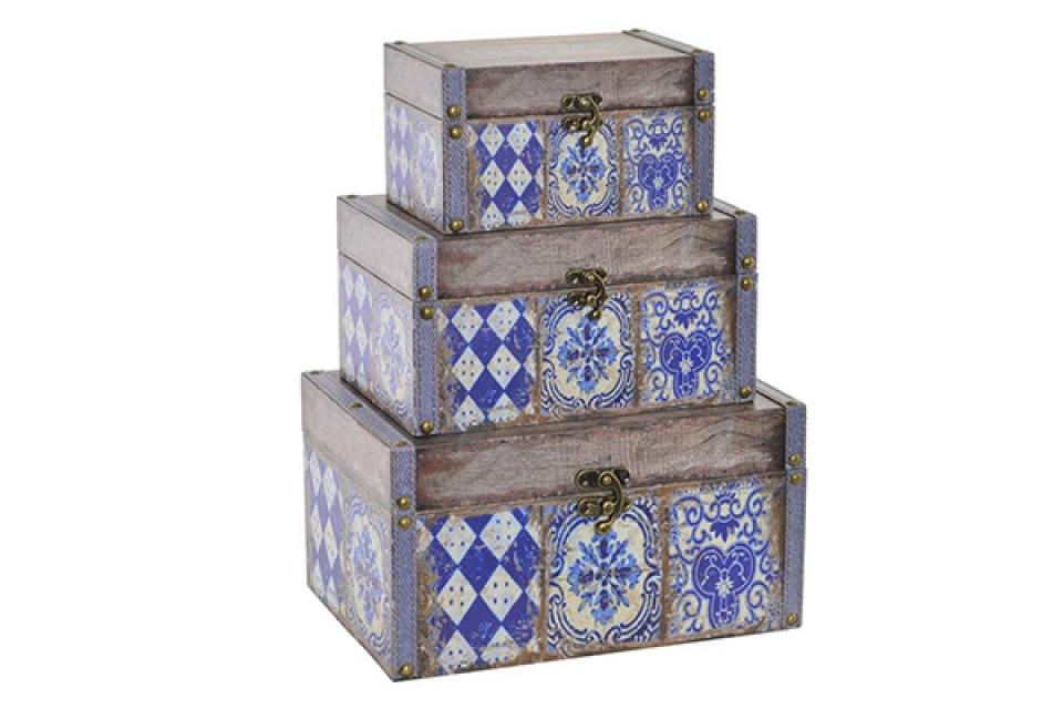Set kutija blue / 3 28x20x15
