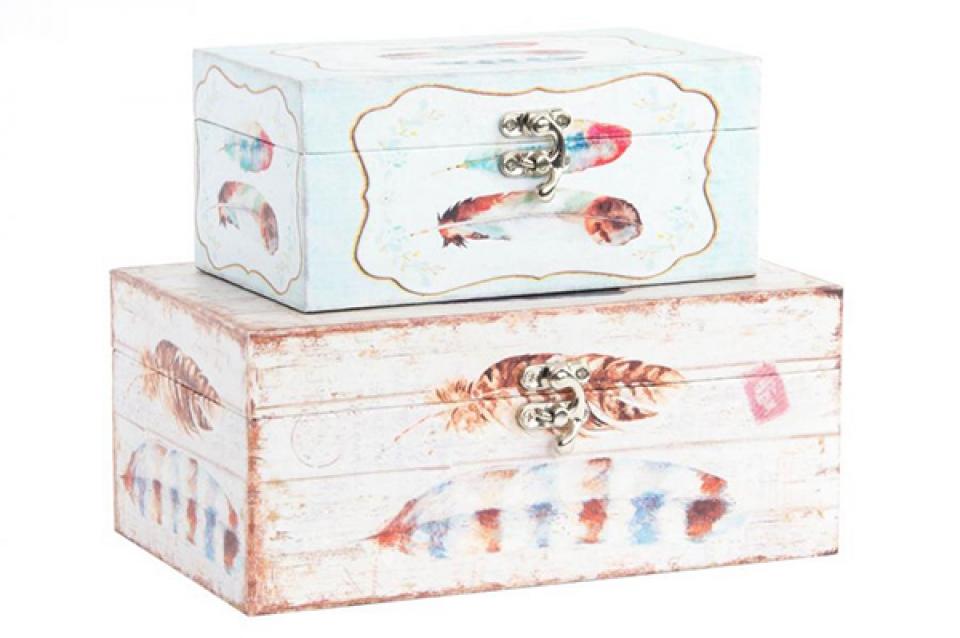 Set kutija boho / 2 23x14x10