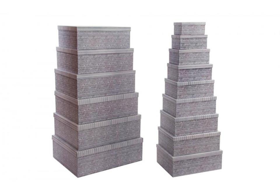 Set kutija bricks / 15 57x45x19