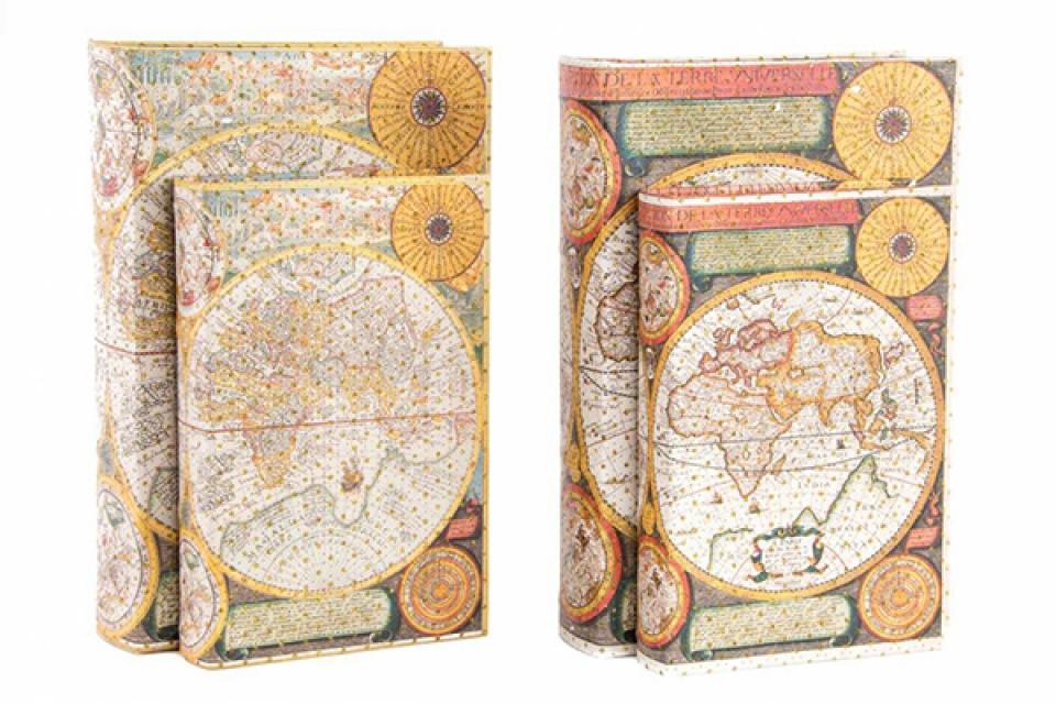 Set kutija knjige mapa 33x22x7 2 modela
