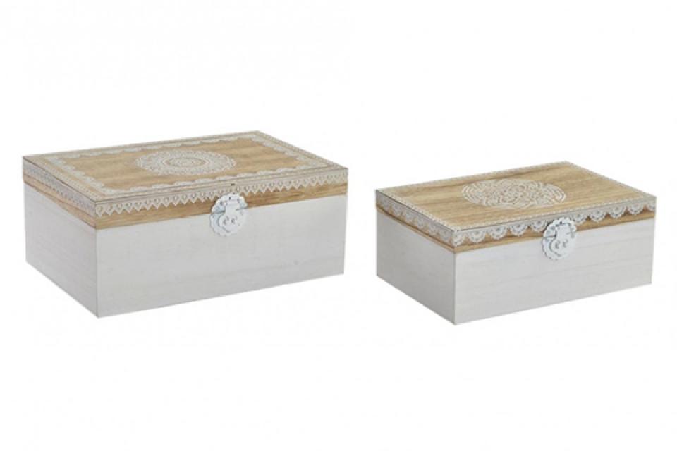 Set kutija mandala / 2 19x13x10