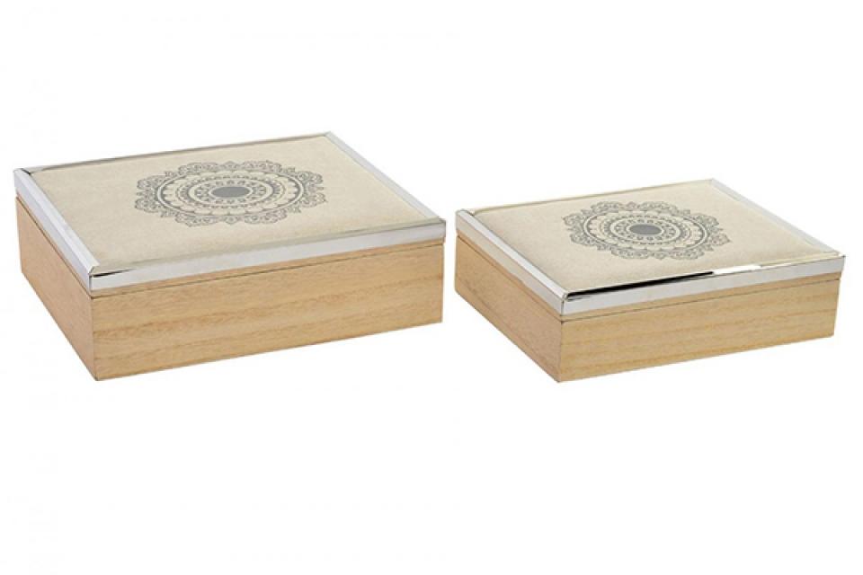 Set kutija mandala / 2  24,5x20,5x8