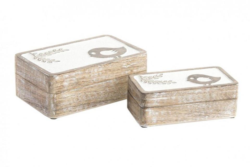 Set kutija sa pticom 20x13x7