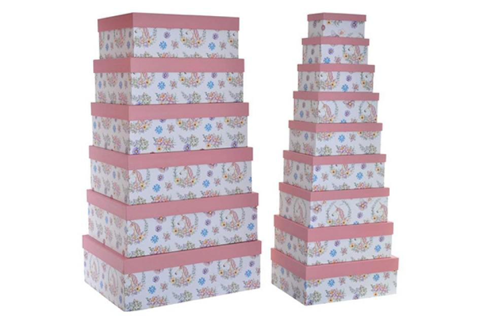 Set kutija unicorn / 15 57x45x19