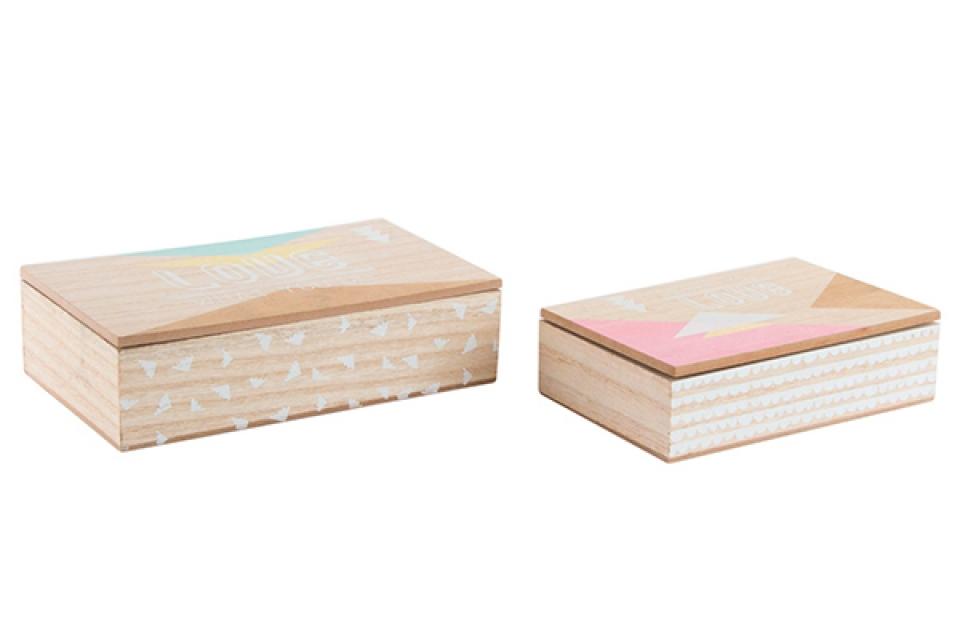 Set natur kutija 25x15x6