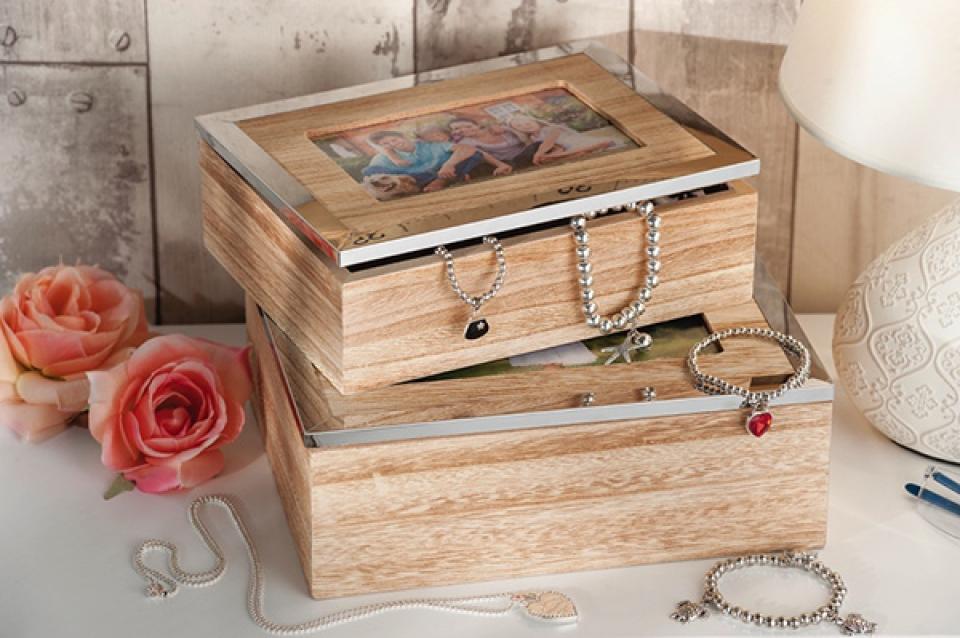Set natur kutija za nakit