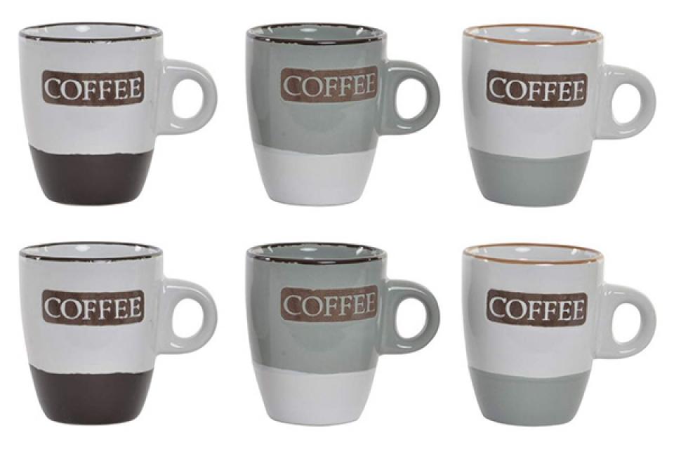 Set ?olja coffee / 6 8x6x7 90 ml