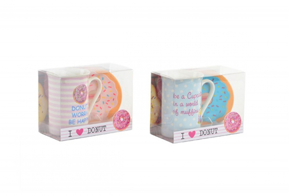 Šolja donut 10,5x7,5x10,5 300 ml