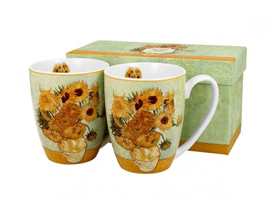 Set šolja vincent van gogh sunflowers / 2 380 ml