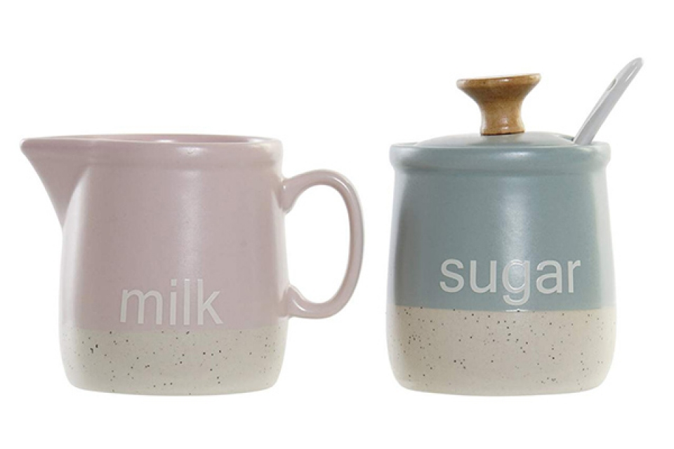 Set za mleko i šećer / 2 11x7,5x9 2 modela