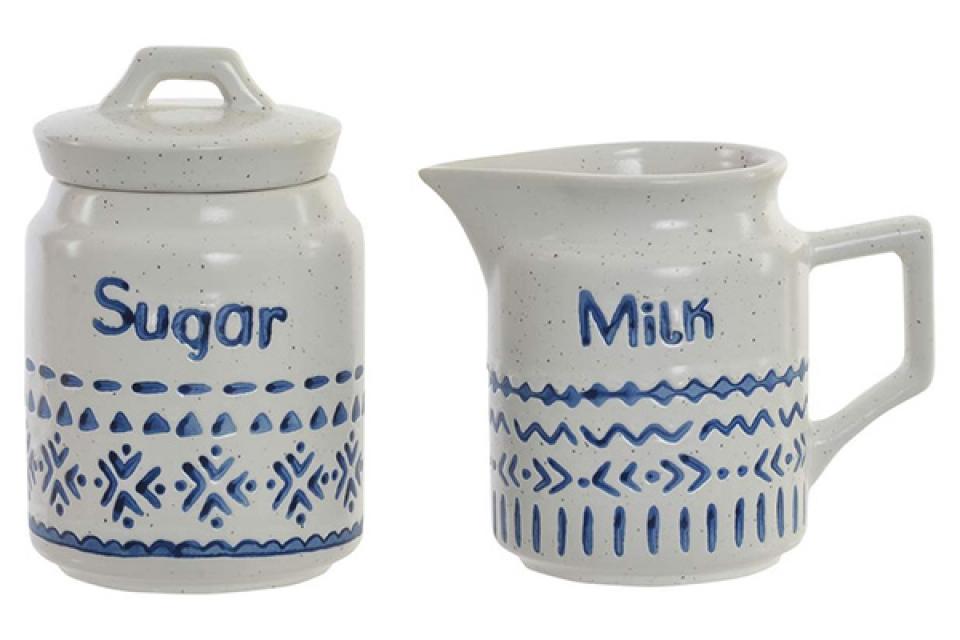 Set za šećer i mleko boho / 2 11x7x9