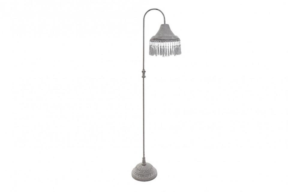 Siva lampa sa kićankama 25x30x142