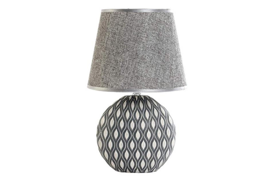 Siva lampa sa ornamentima 20x20x33