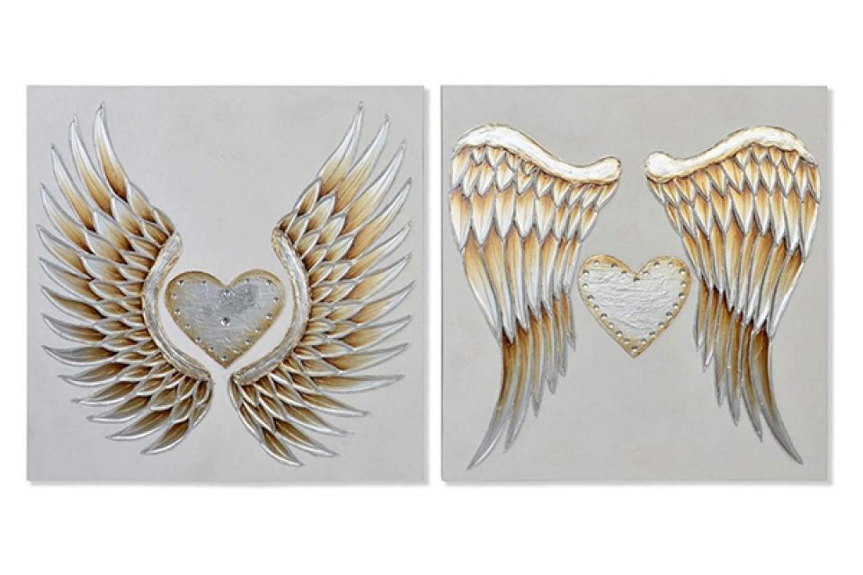 Slika anđeoska krila 100x3x100 2 modela
