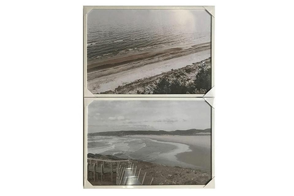 Slika beach framed 70x3x50 2 modela