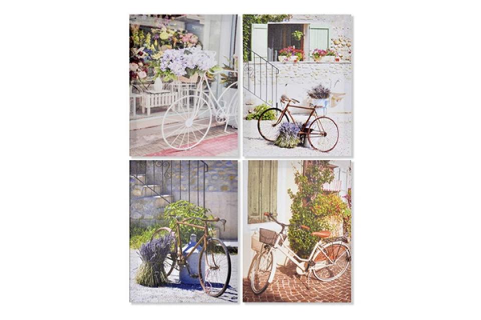 Slika bicikli i cveće 30x2x40 4 modela