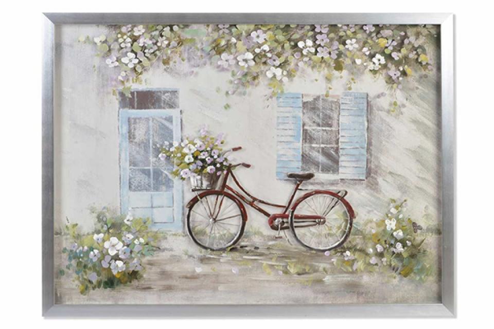 Slika bicycle framed beige 125x5x95