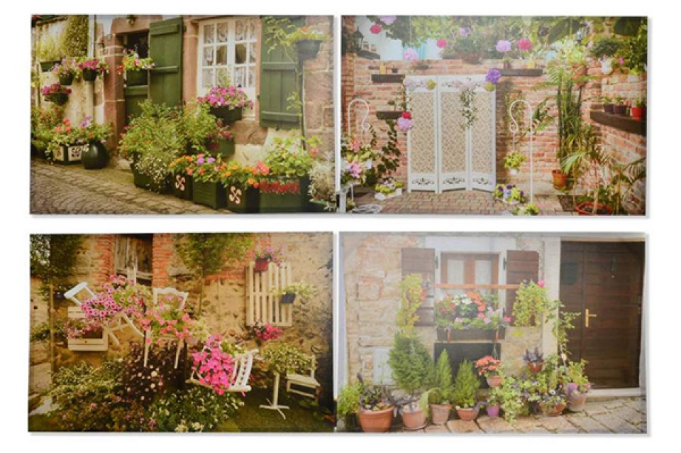 Slika cveće  90x60x2,5 4 modela
