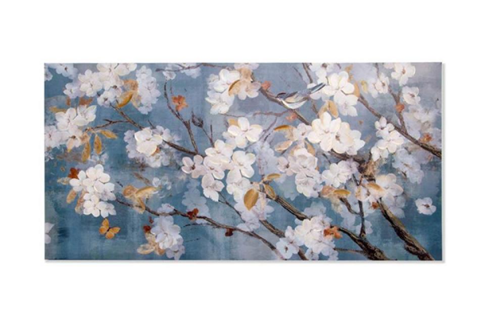 Slika flowers 120x60x4