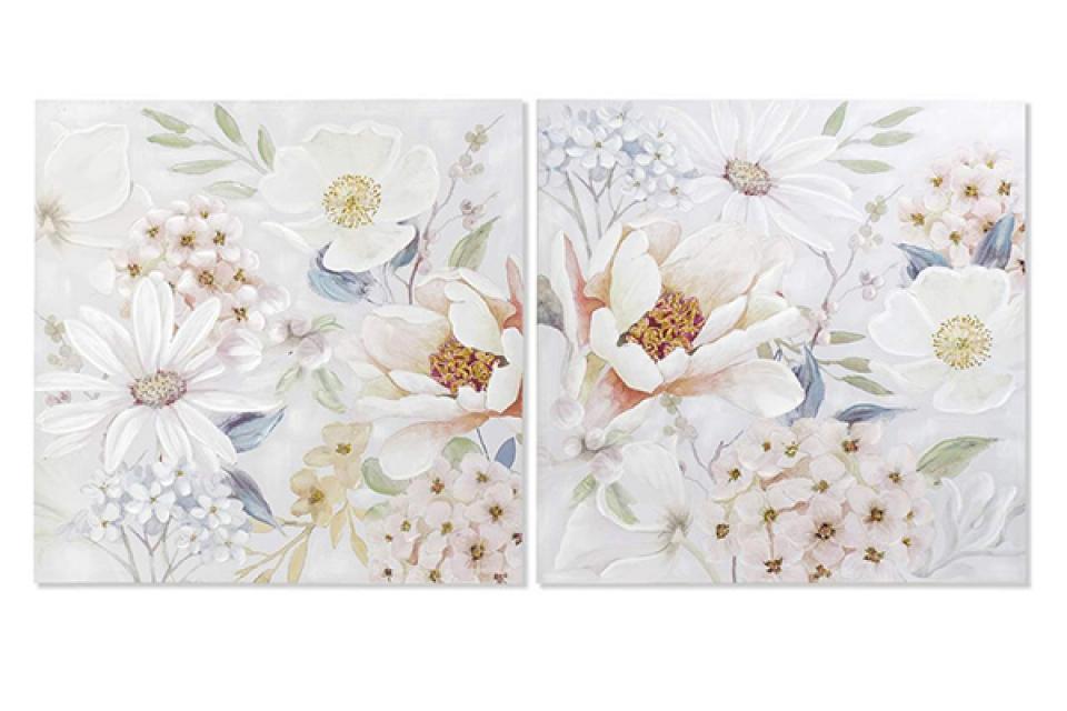 Slika flowers / platno 100x3x100 2 modela
