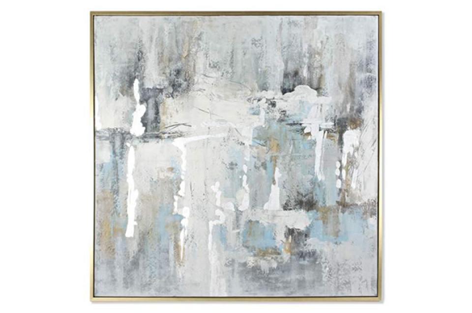 Slika framed blue 131x4x131