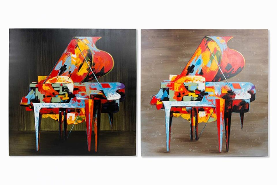 Slika klavir 100x100x4 2 modela