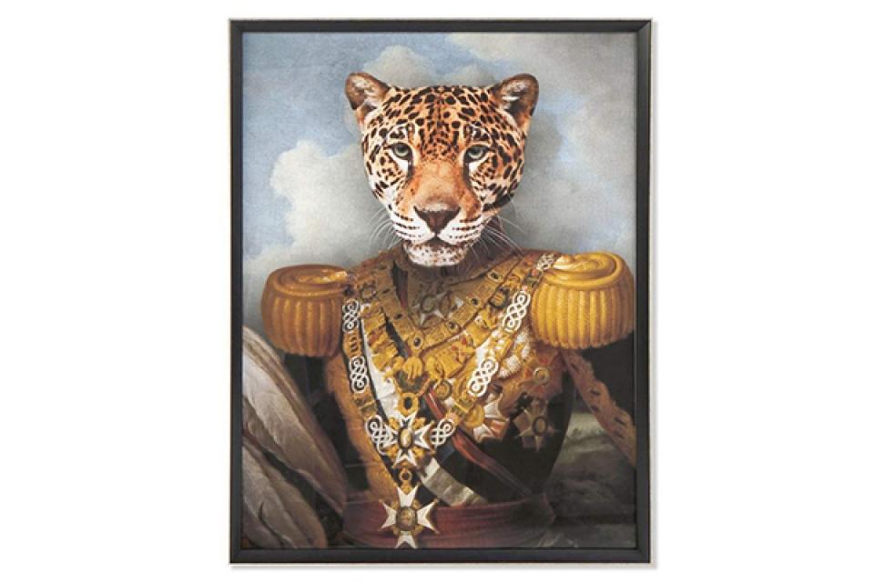 Slika leopard framed 74x3x97