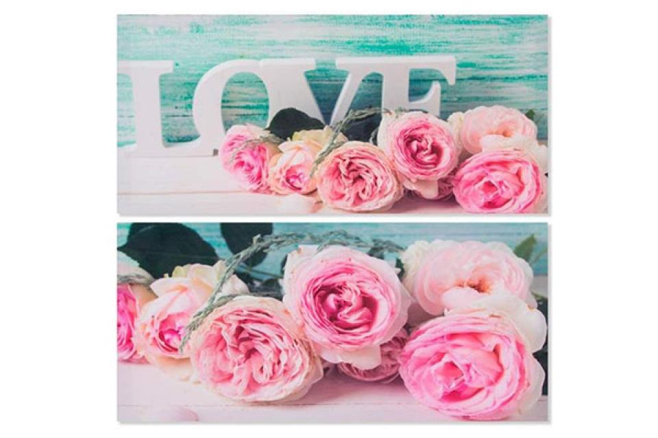 Slika love ruže 79x38x2