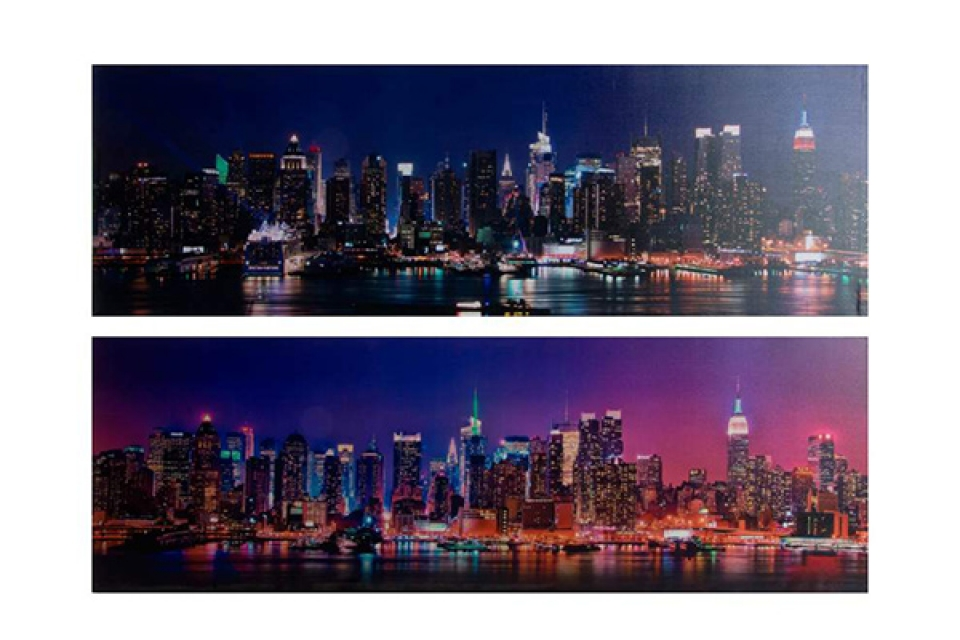 Slika new york night 120x3x40 2 modela