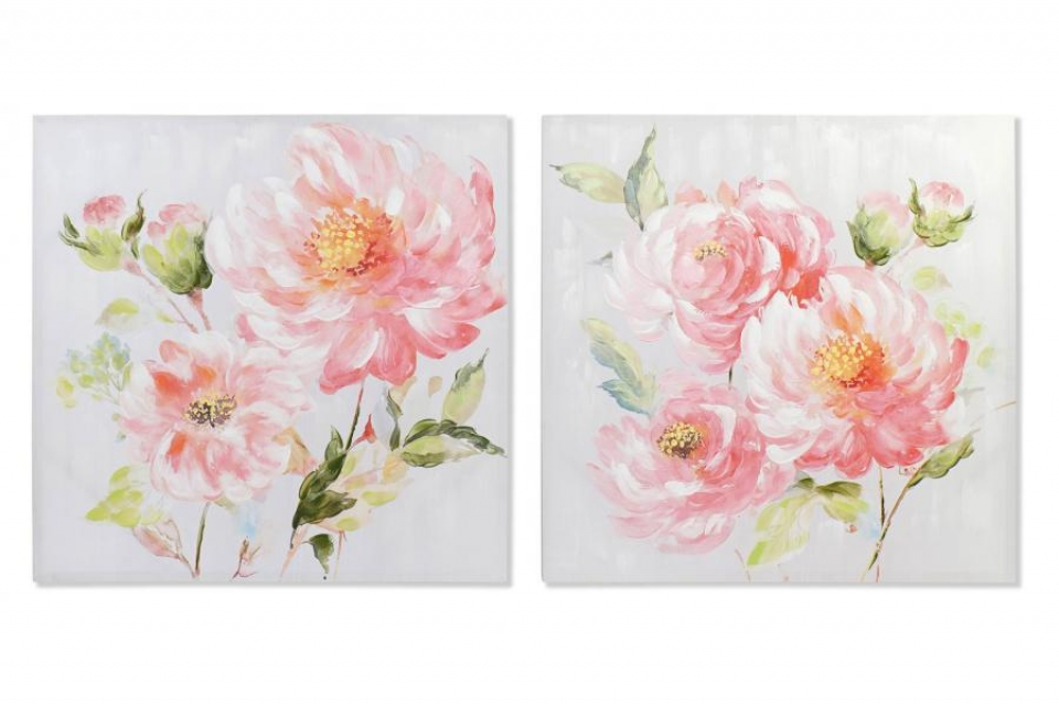 Slika pink flower 100x3x100 2 modela