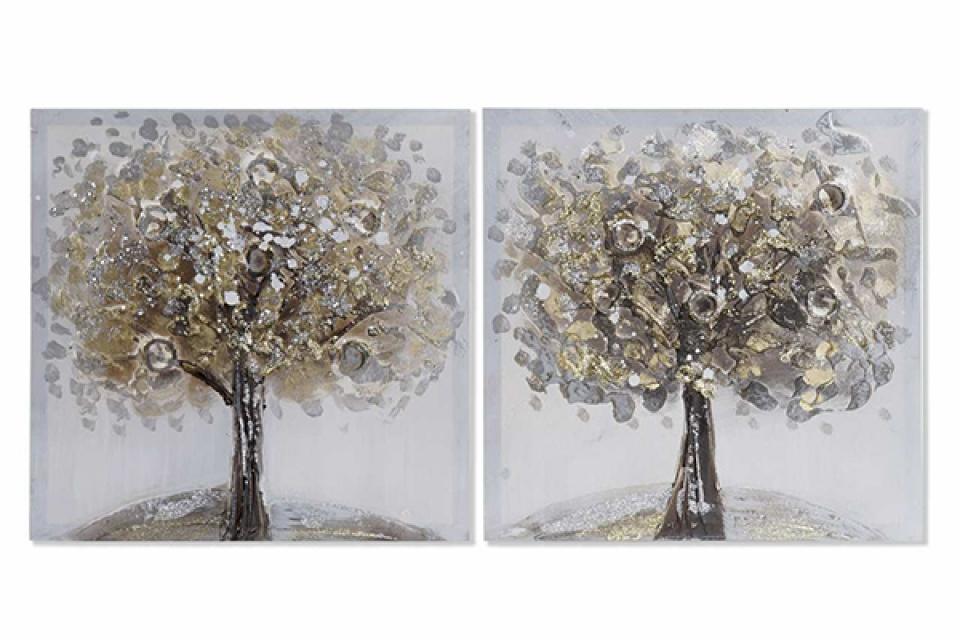 Slika tree / kanvas platno 40x2x40 2 modela