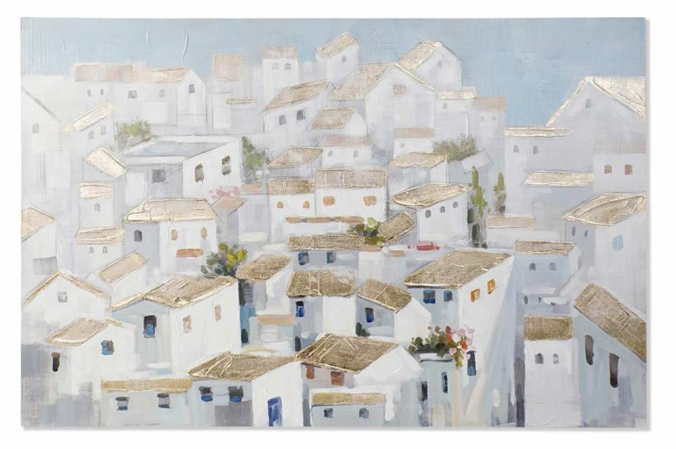 Slika white houses 150x3,8x100