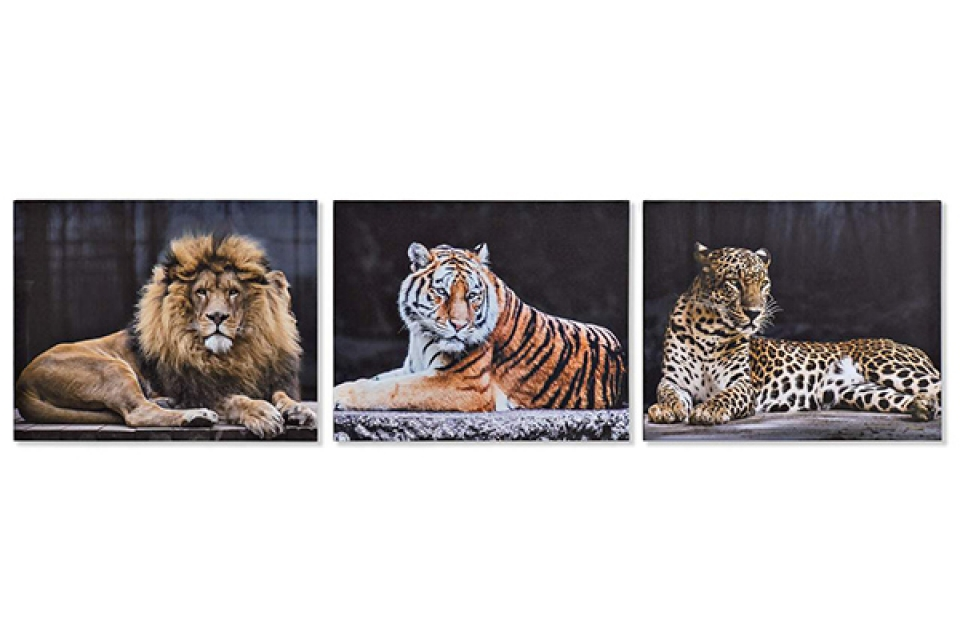 Slika wild animals 50x1,8x40 3 modela