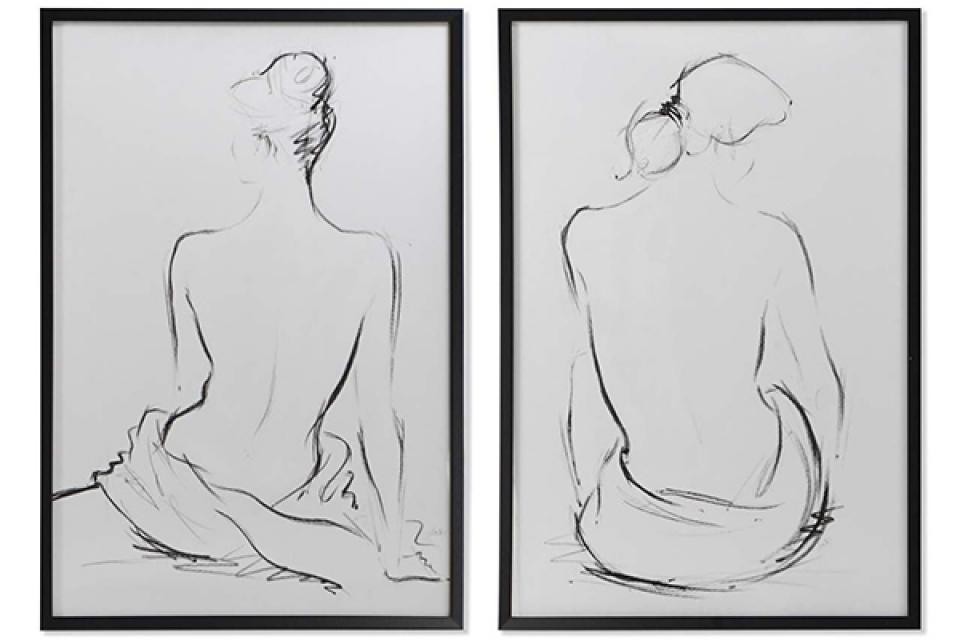 Slika woman 63x3x93 2 modela