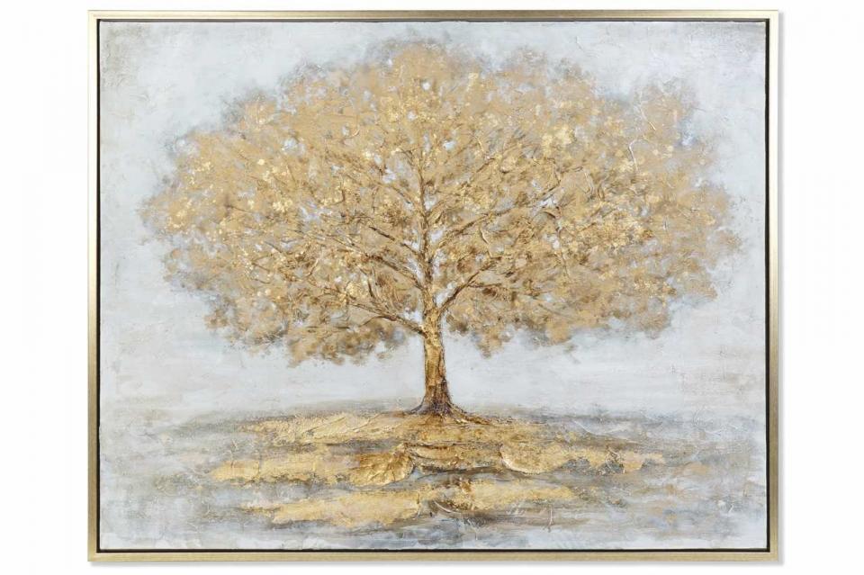 Slika zlatno drvo 131x4x106