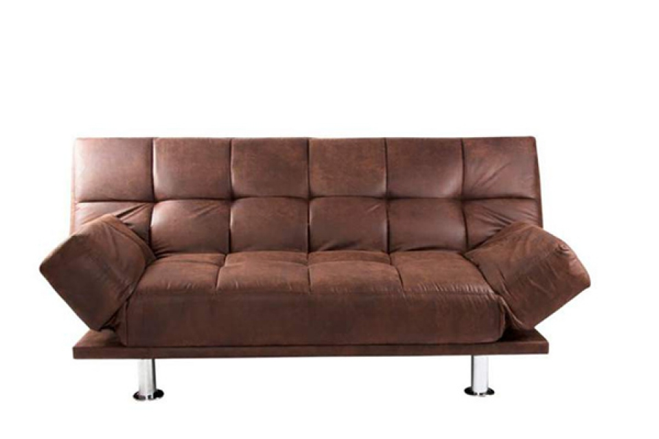 Sofa aged brown 180x85x83