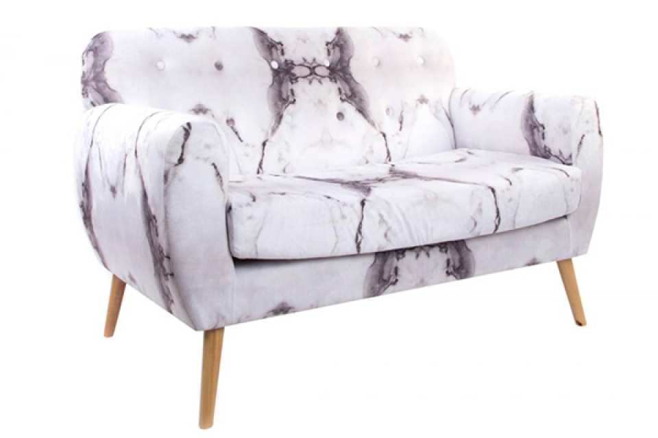 Sofa velvet 142x80x72