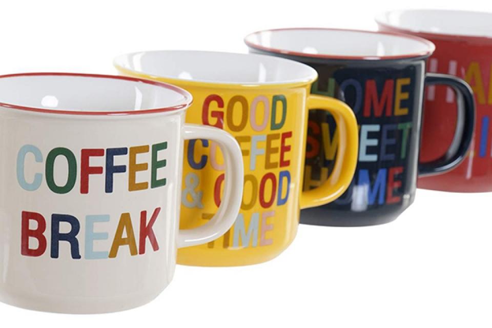 šolja coffee break 13x10x9 420 ml 4 modela