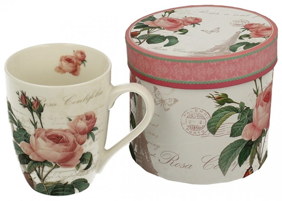 šolja pink rose 375 ml