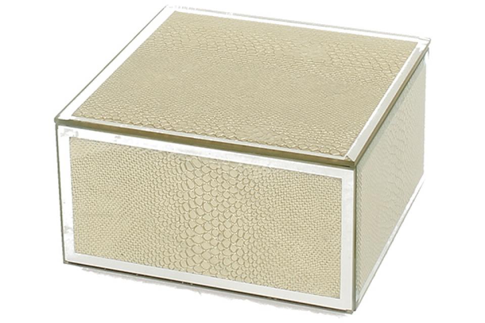 Staklena kutija gold snake 12 cm