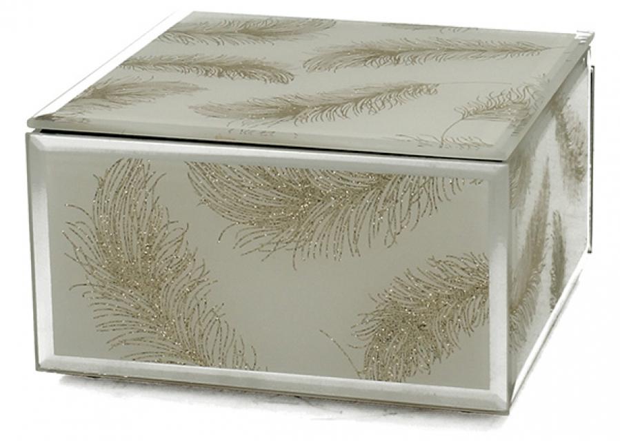 Staklena kutija ivy 12 cm