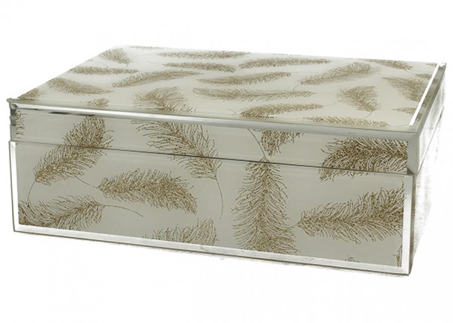 Staklena kutija ivy 21 cm