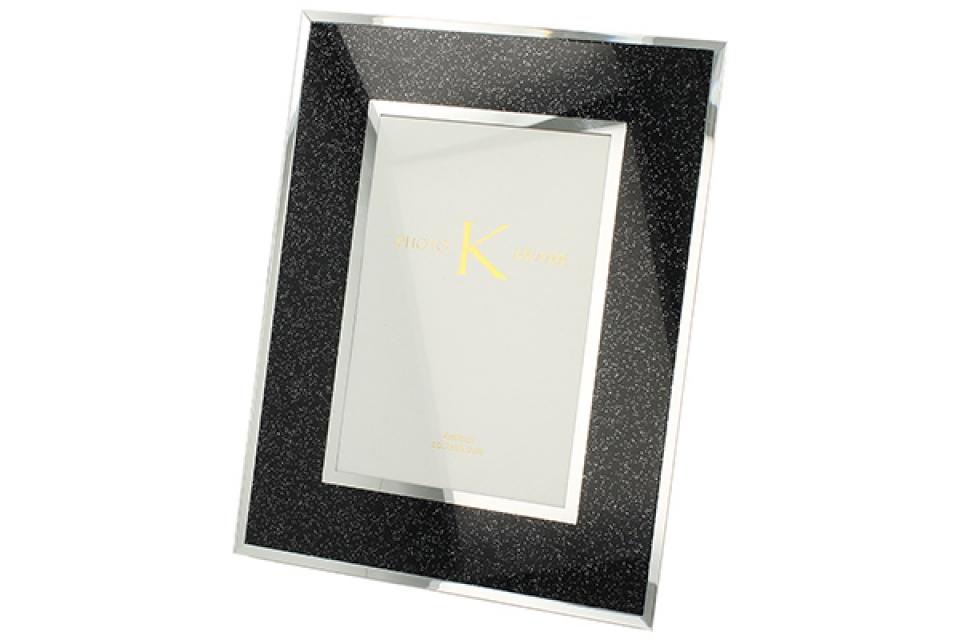 Stakleni crni ram 10 x 15 cm