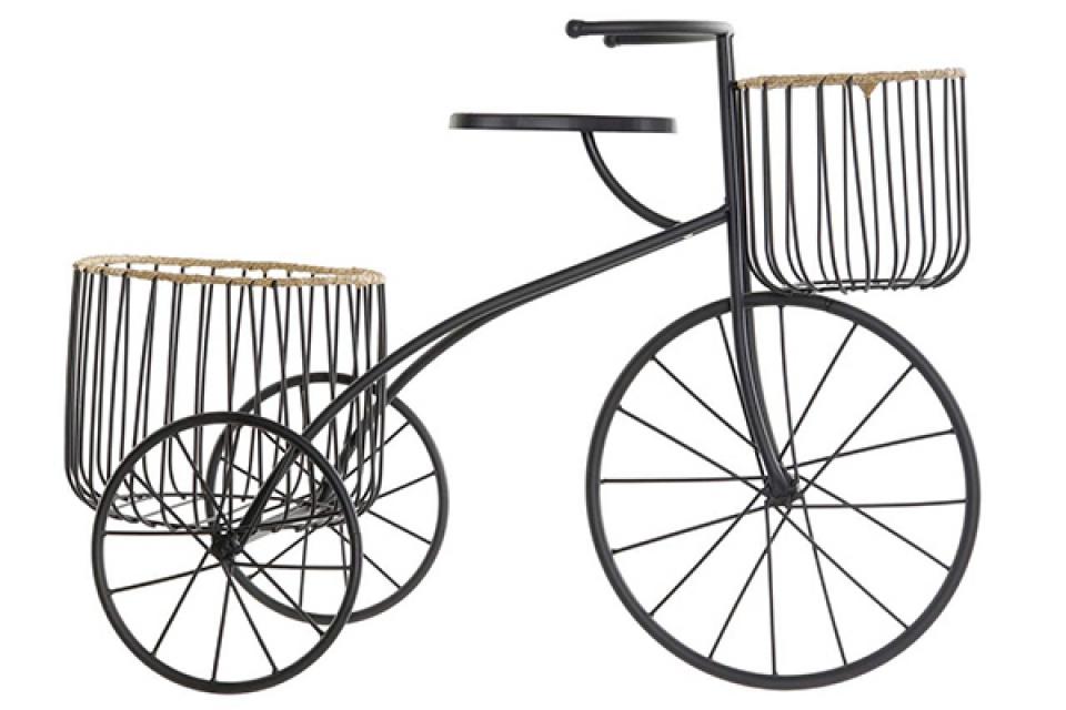 Stalak za saksije bicikl 60x24x41