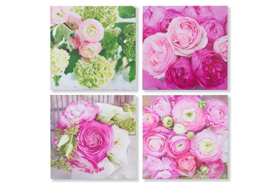 štampana slika 40x40x2 ruže