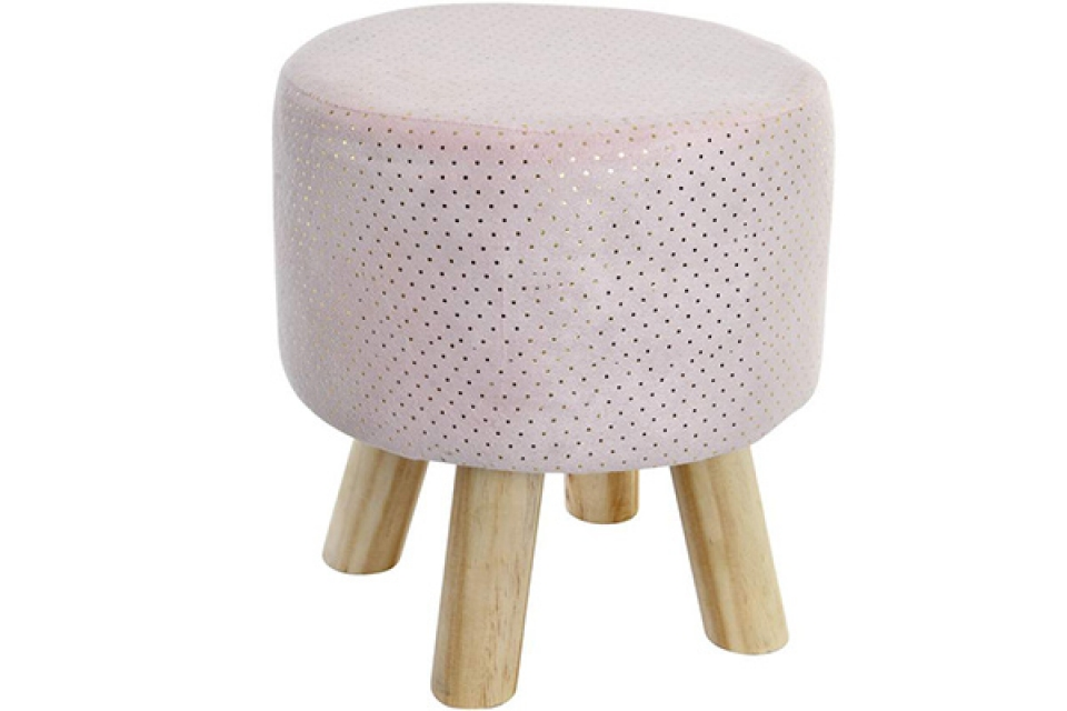 Stolica pale pink 30x30x33