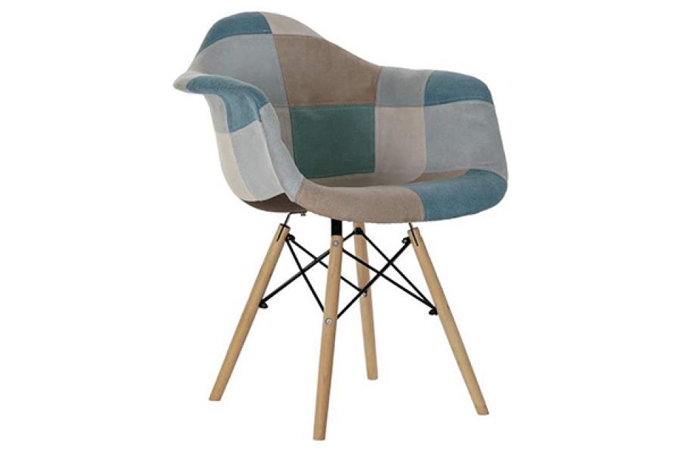 Stolica patchwork 62x61x83 45,5 cm