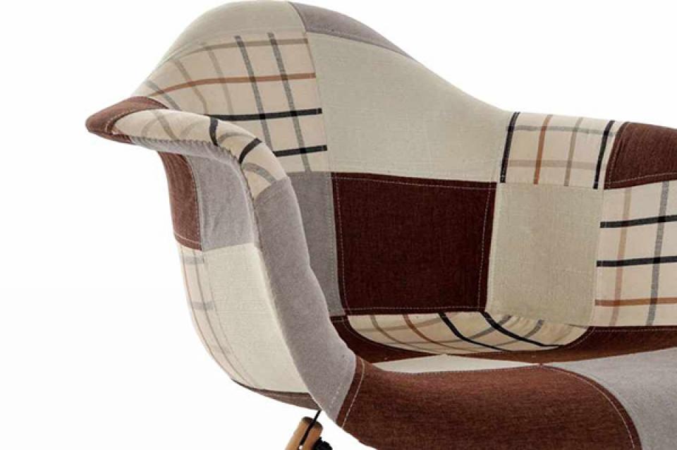 Stolica patchwork 63x61x82