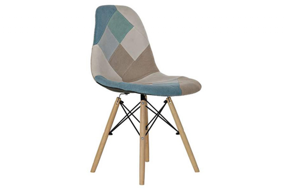 Stolica plavo bež 47x49x83 47cm